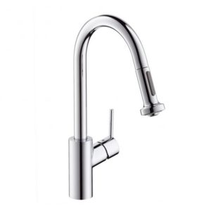 Hansgrohe Talis S? Variarc single lever kitchen mixer with pullout spray chrome (14877000)
