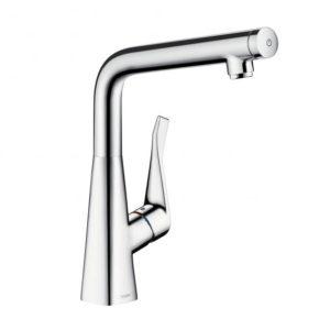 Hansgrohe Metris Select single lever kitchen mixer 320 chrome (14883000)