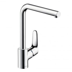 Hansgrohe Focus single lever kitchen mixer with swivel spout chrome (31817000)