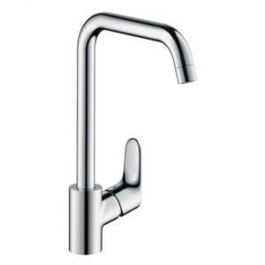 Hansgrohe Focus single lever kitchen mixer for vented hot water cylinders chrome (31822000)