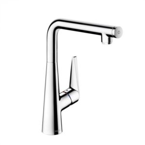 Hansgrohe Tails Select S single lever kitchen mixer 300 with swivel spout (72820000)