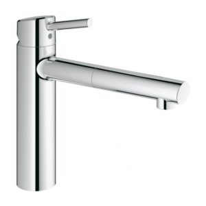 Grohe Concetto single lever kitchen mixer chrome (31129001)