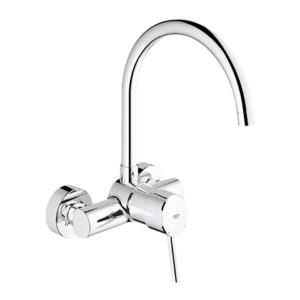 Grohe Concetto wall-mounted, single lever kitchen mixer 1/2″ (32667001)