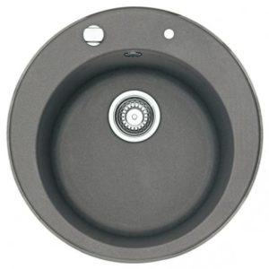 Franke Pamira ROG 610-41 round bowl Ø 51 cm stone grey
