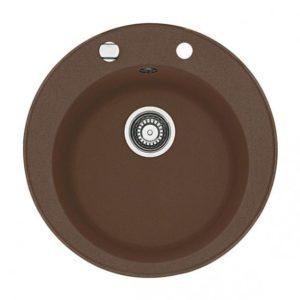 Franke Pamira ROG 610-41 round bowl Ø 51 cm chocolate