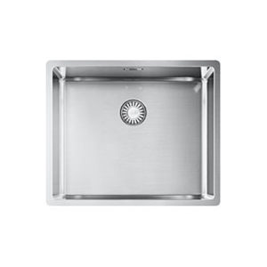 Franke Box BXX 210 / 110-50 kitchen sink, with push-button for waste valve 3/12″