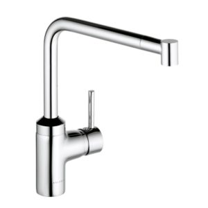 Kludi L-INE single lever kitchen mixer with telescopic spout (428210577)