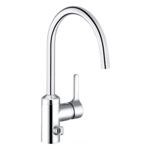 Kludi Bingo Star single lever, multi kitchen mixer , with utility valve chrome (428360578)